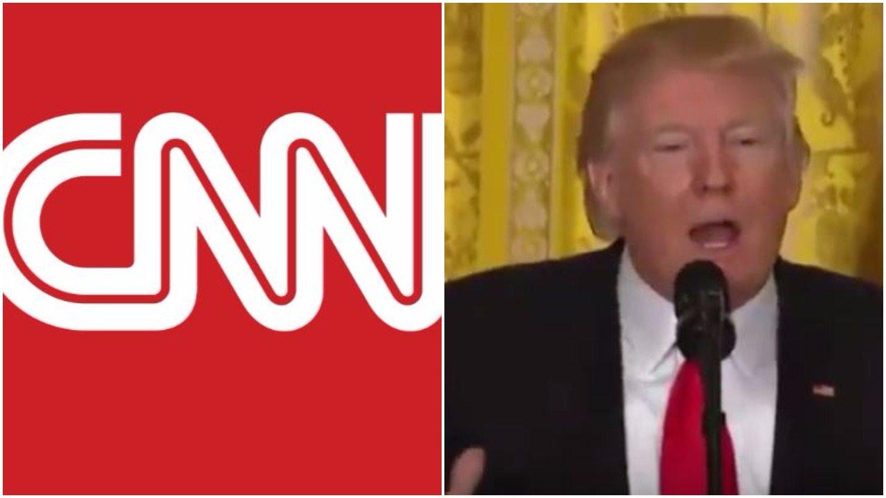 CNN Refuses To Air Trump Propaganda At Coronavirus Briefing